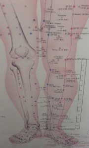 Acupuncture 3rd session diagrams