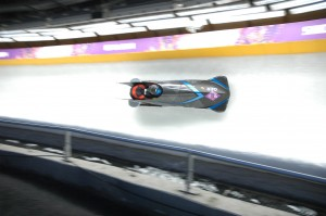 Two-man bobsleigh