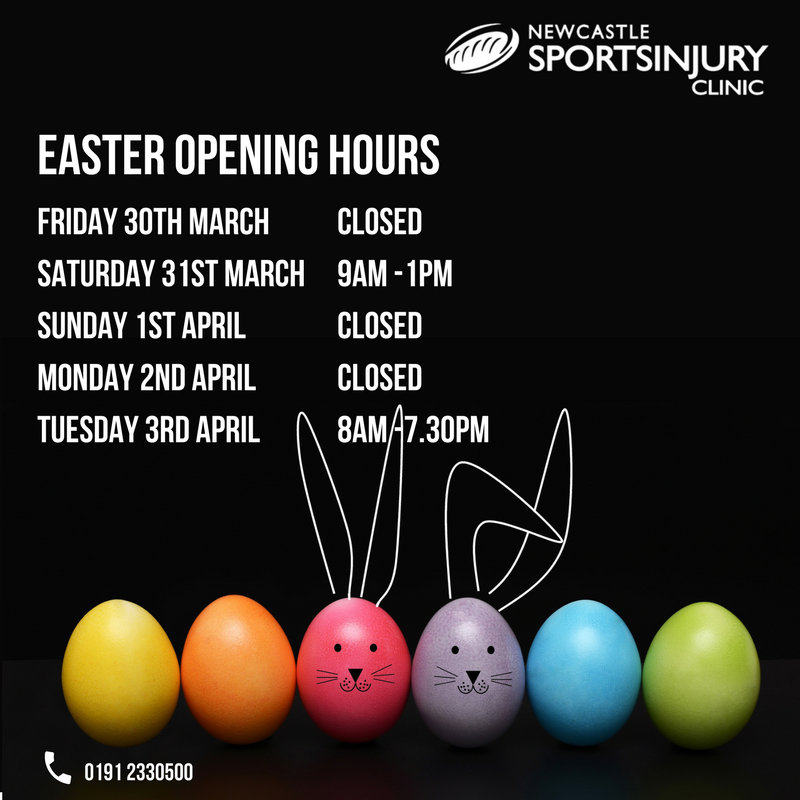 Opening hours over Easter period