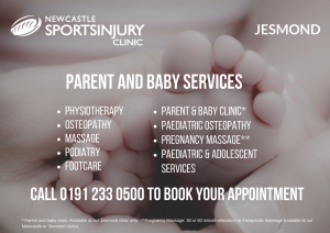 Parent and Baby Services - Jesmond