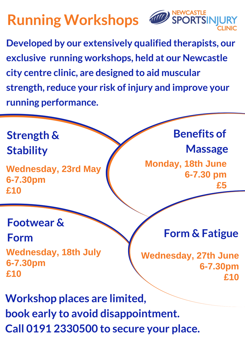 Running Workshop – 23rd May 2018 – Strength and Stability