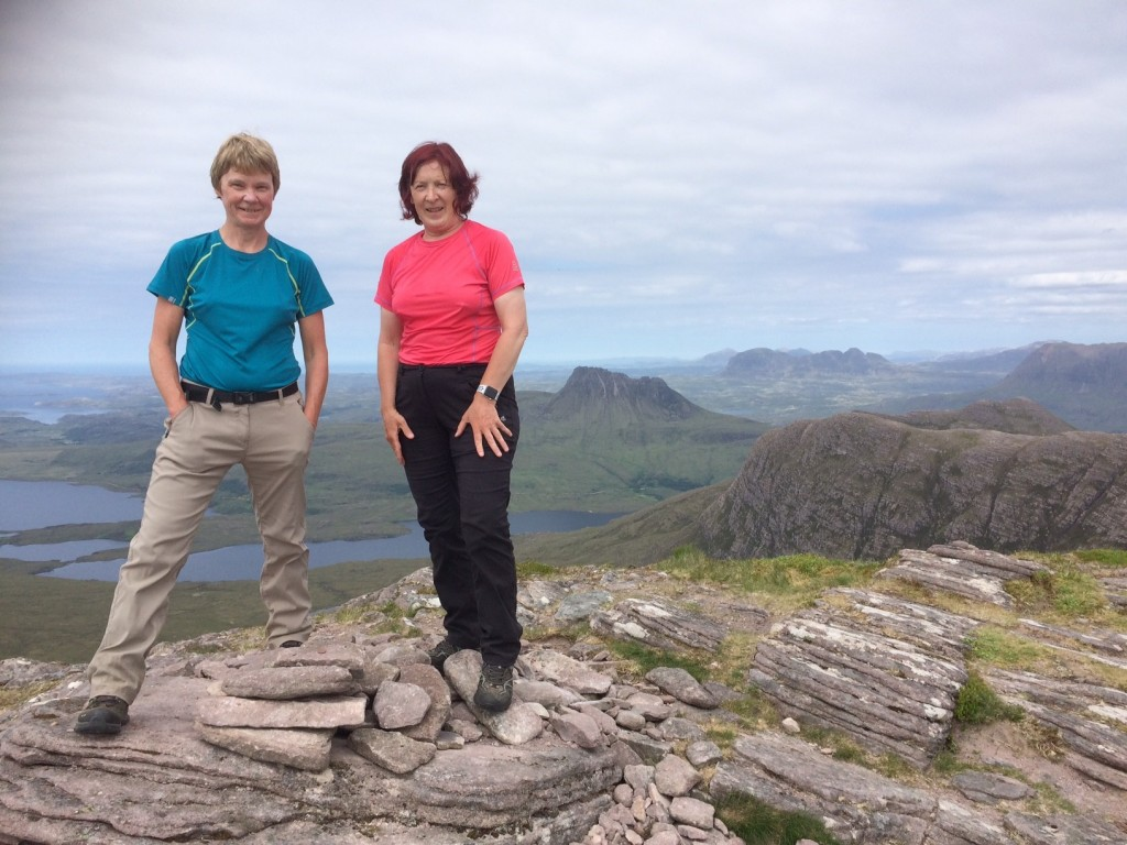 Carol and Vera have been friends for many years and this challenge strengthened their friendship.