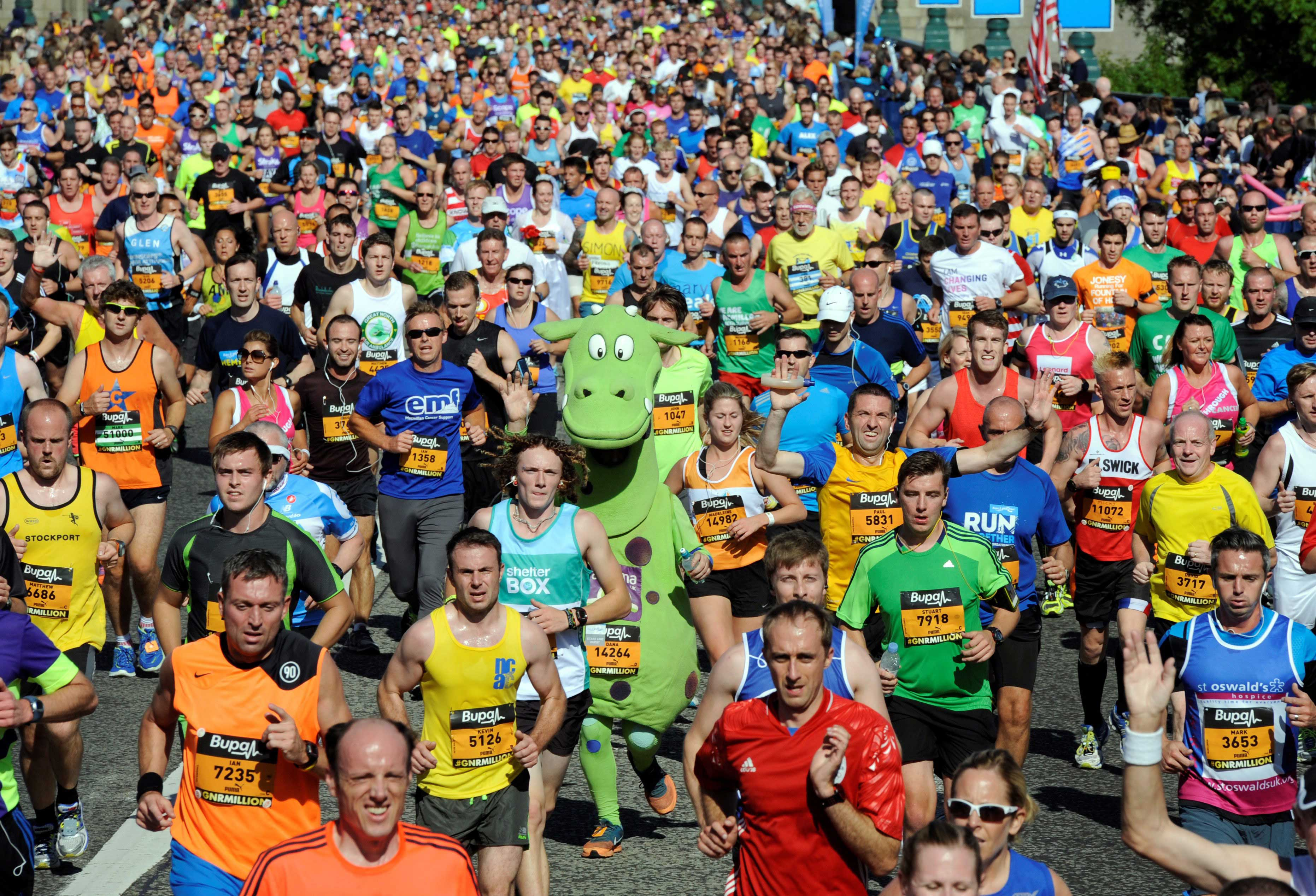 Don't let injury stop you crossing the Great North Run finish line