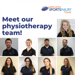 Meet our physiotherapy team!
