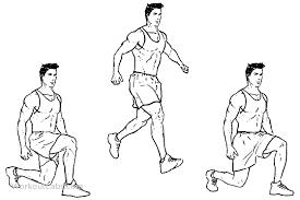 alternating squats