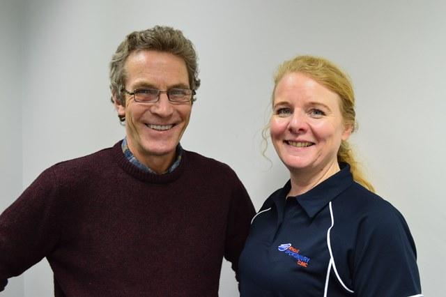 Clinics team up to help Mike reach peak performance