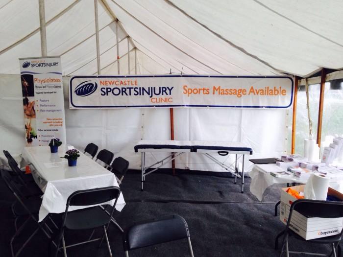 Newcastle sports massage