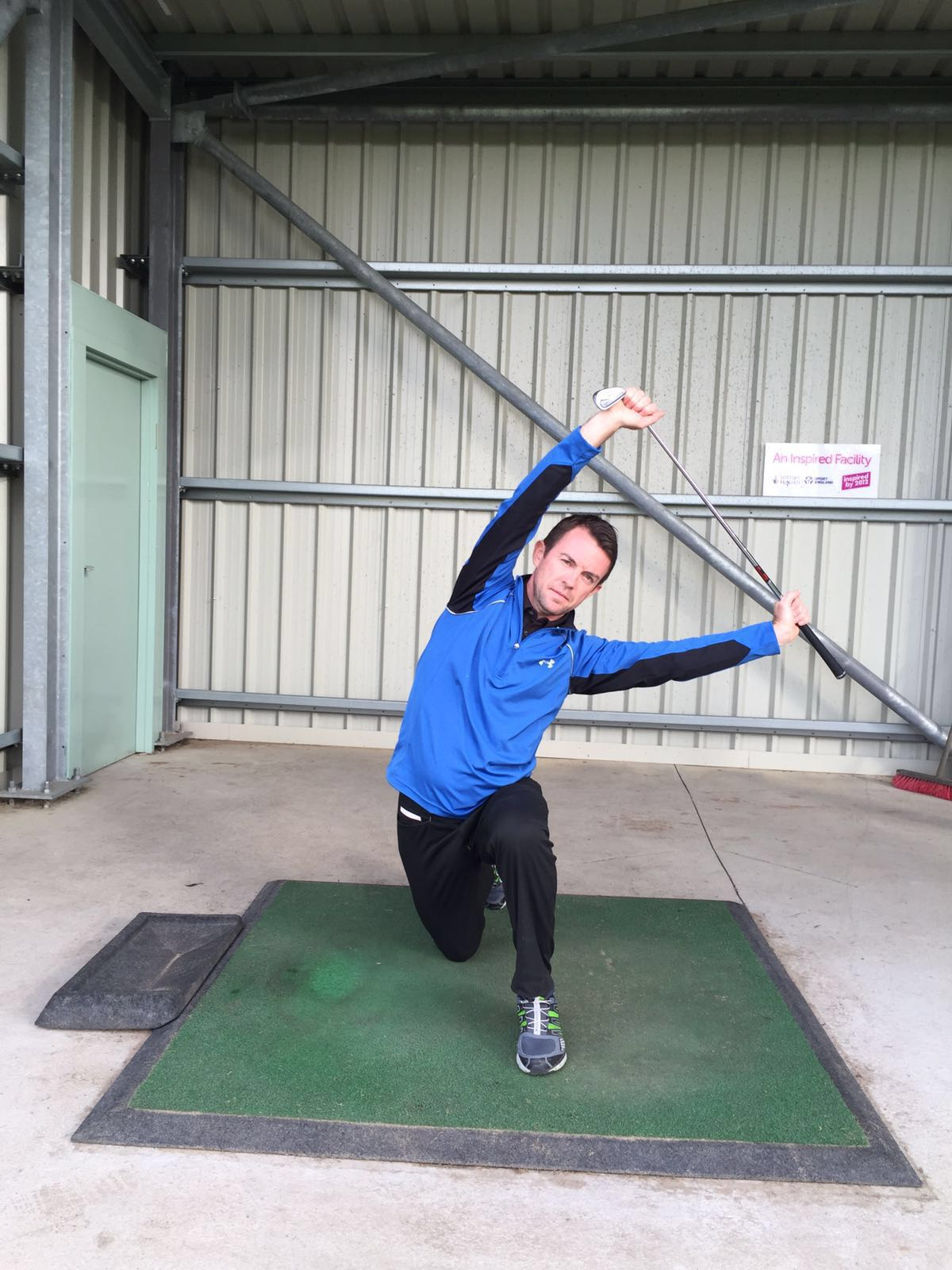 Top five stretches to prevent golf injury