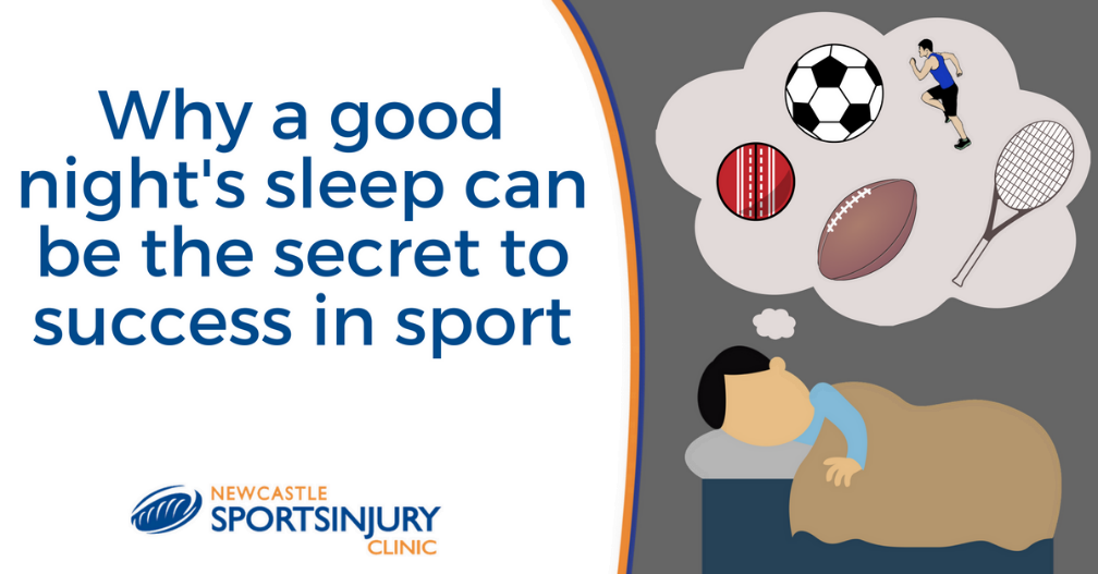 Why a good night's sleep can be the secret to success in sport