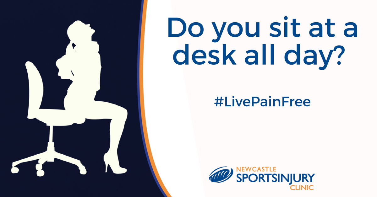 If you sit at a desk all day, you NEED to read this… #LivePainFree