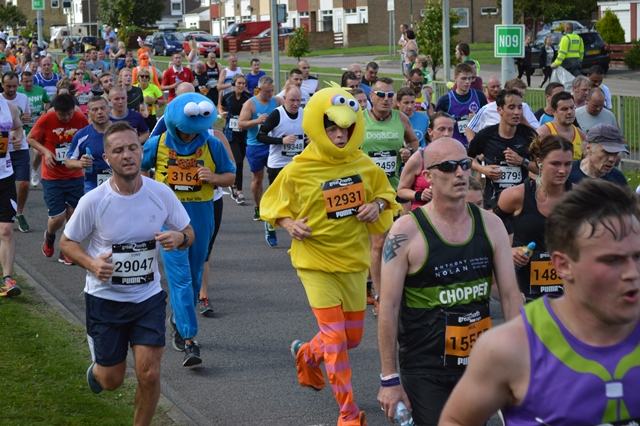 Running the Great North Run for charity? We can help you through it