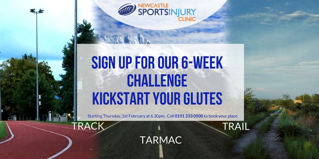 Kickstart your Glutes – 6-week Challenge