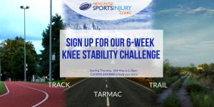 Runners Knee challenge artwork May 2018