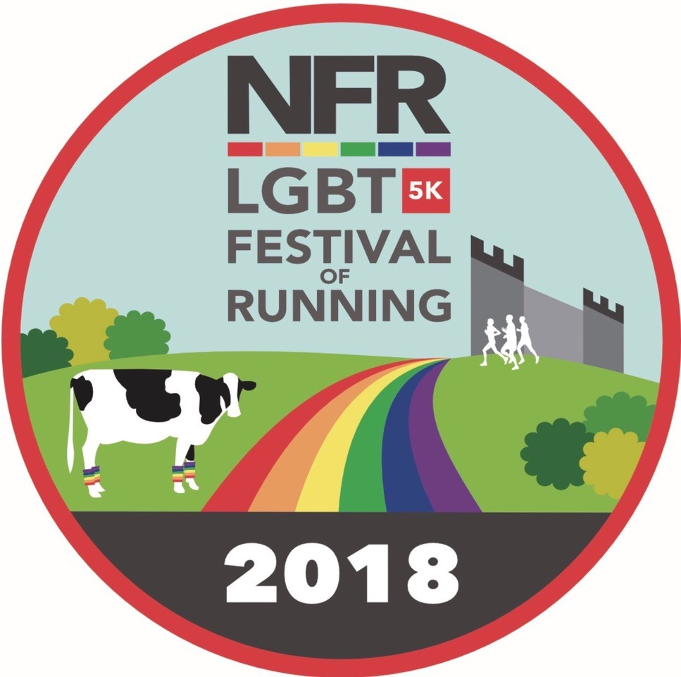 Proud to support the LGBT5k Festival of Running