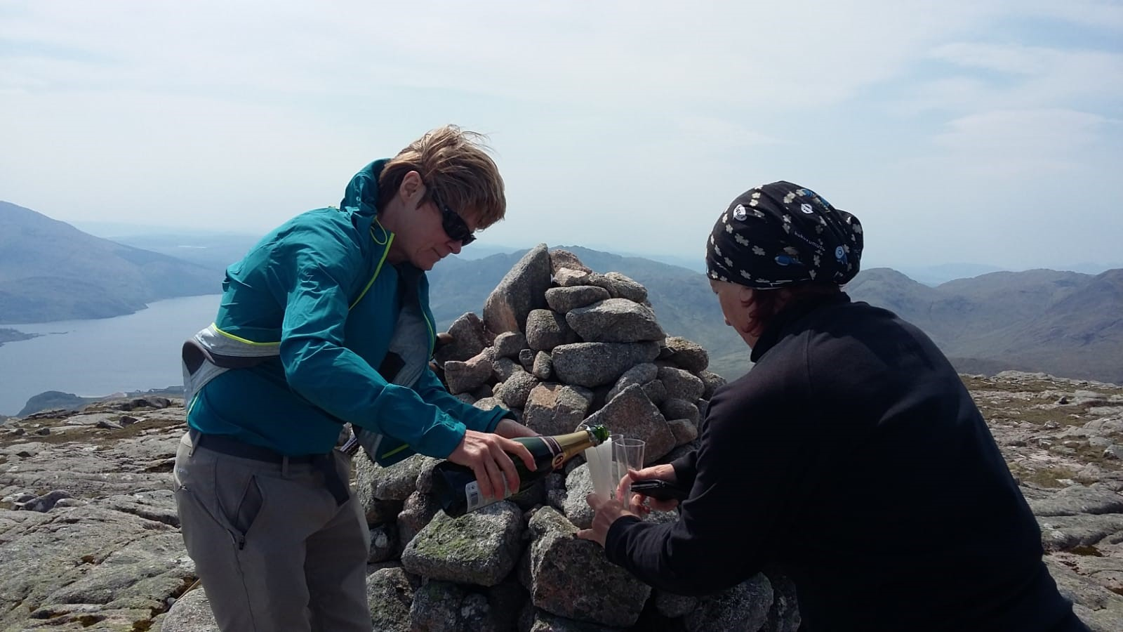 In 2018 Carol and Vera celebrated climbing their final Munro.  The ladies are now Compleatist/Munroists!