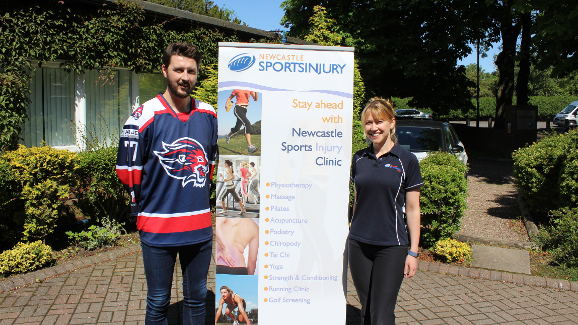 NEWCASTLE SPORTS INJURY CLINIC SPONSOR TEAM GB ATHLETE (PART 2)