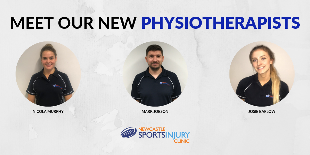 Three new Physiotherapists join the ranks at Newcastle Sports Injury Clinic