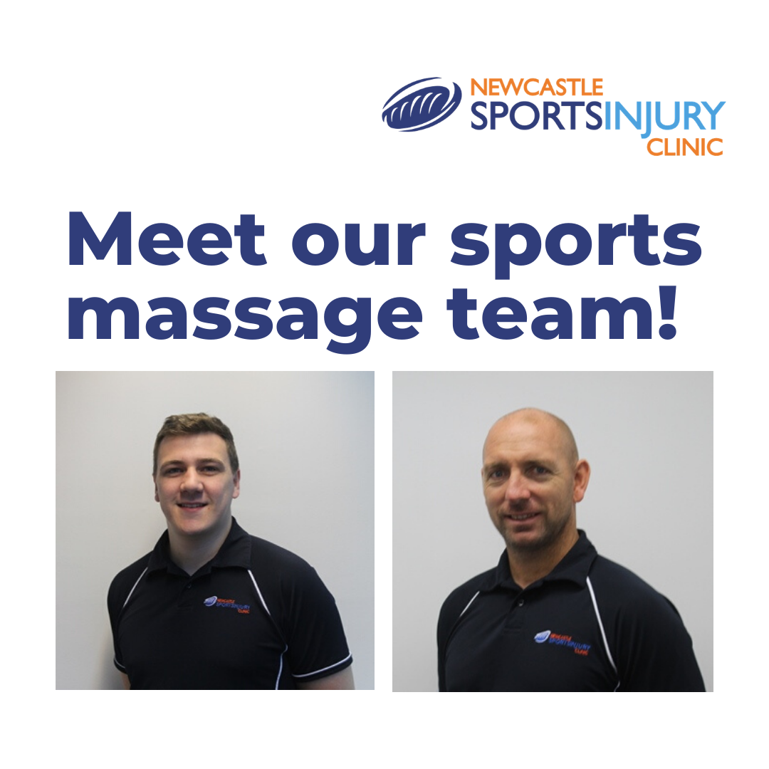 Meet our sports massage team!