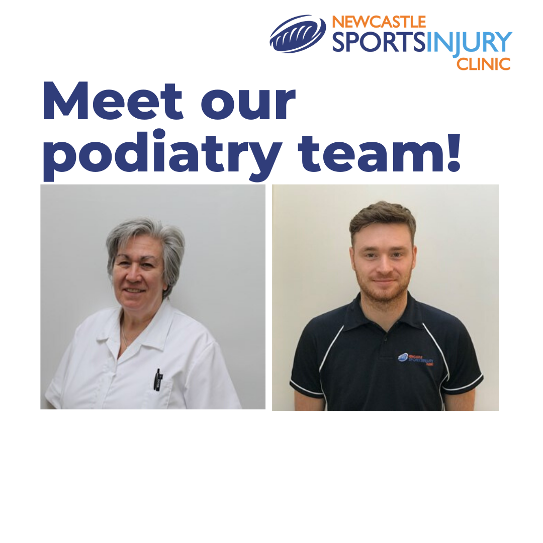 Meet the podiatry team at Newcastle Sports Injury Clinic